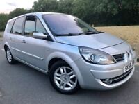 58 RENAULT GRAND SCENIC 1.5 DCI DYNAMIQUE S**7 SEATER**PARKING SENSORS**LEATHER**TOP SPEC..zafira.