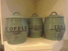 Selection of kitchen jars