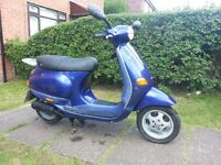 Piaggio ET2 Moped 1 Owner Low Mileage