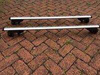 Roof Bars - should fit most cars - 1.3m long bars
