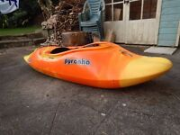 Pyranha Molan Playboat in good condition (size Medium)