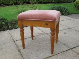 Dressing table stool