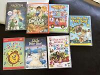 Children's bundle of dvds
