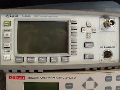 Agilent E4416a Power Meter 9 Khz - 110 Ghz Epm-p Good Working Calibrated
