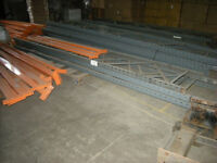 Used Job Lot Dexion Pallet Racking (bars and uprights)