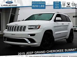 2015 Jeep Grand Cherokee SUMMIT**4X4*ÉQUIPEMENT COMPLET*CUIR*TOI