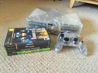 Xbox Crystal with 3 Games