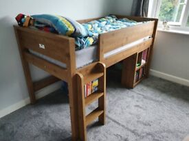 Next Cabin Bed with single mattress