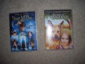 2 Children's DVD's