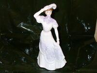 Coalport fine bone china figurine
