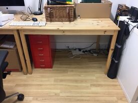 4 x Metal Desk Drawer Units for sale (£8 each)