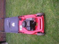 Lawnflight petrol push mower in GWO