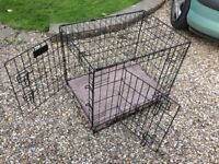 Small dog crate for sale- nearly new