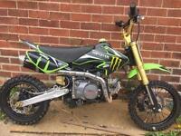 2017 125cc Outlaw pit bike