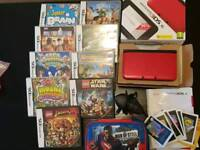 Huge 3ds xl bundle with 3 Pokemon games