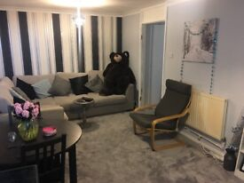 One bed flat to swap for two bed property