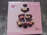 Cup cake stand new never opened holds 19 cupcakes £5