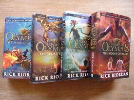 Heroes of Olympus - by Rick Riordan