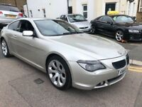 BMW 630CI 2005(55) COUPE AUTOMATIC MINT FULL SERVICE HISTORY SAT NAV LEATHERS...