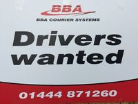 COURIERS REQUIRED - FULL AND PART TIME
