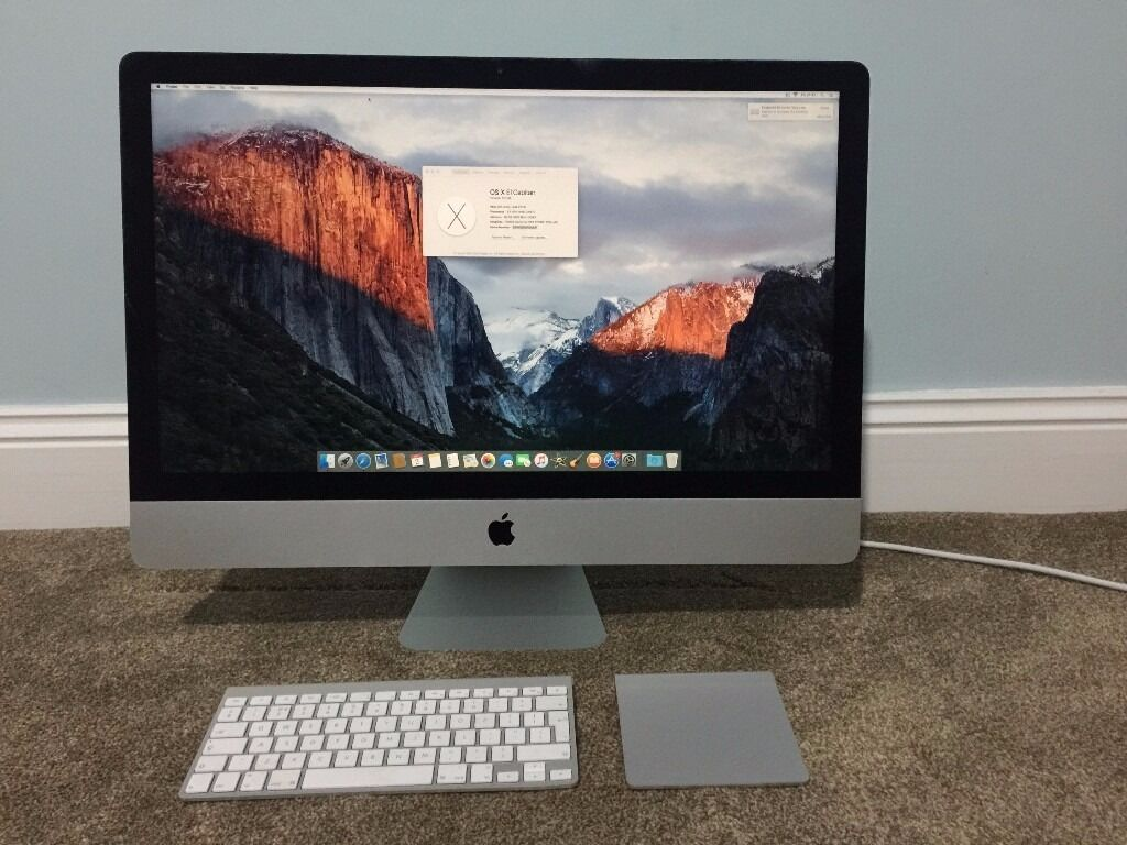 Apple Imac 27 I7 3.5ghz Late 2013 Desktops & All-in-ones