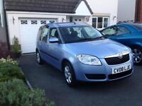 SKODA ROOMSTER 2. FULL SERVICE HISTORY. 73k 1 PREVIOUS OWNER FROM NEW.