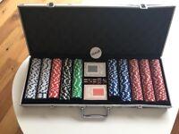 Complete Poker Game Set