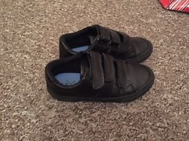 Next boys black school shoes. Only worn once