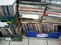 job lot, vinyl records, dj collections, top title's, dance, trance, house, funky, oldskool