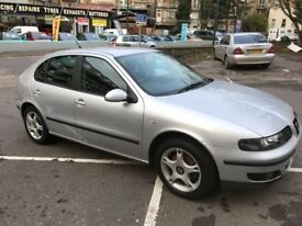2003 Diesel SEAT LEON with 1 year MOT just done 3 Mo labour warranty