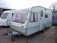 ABI Quasar 450s 4 berth caravan with full awning