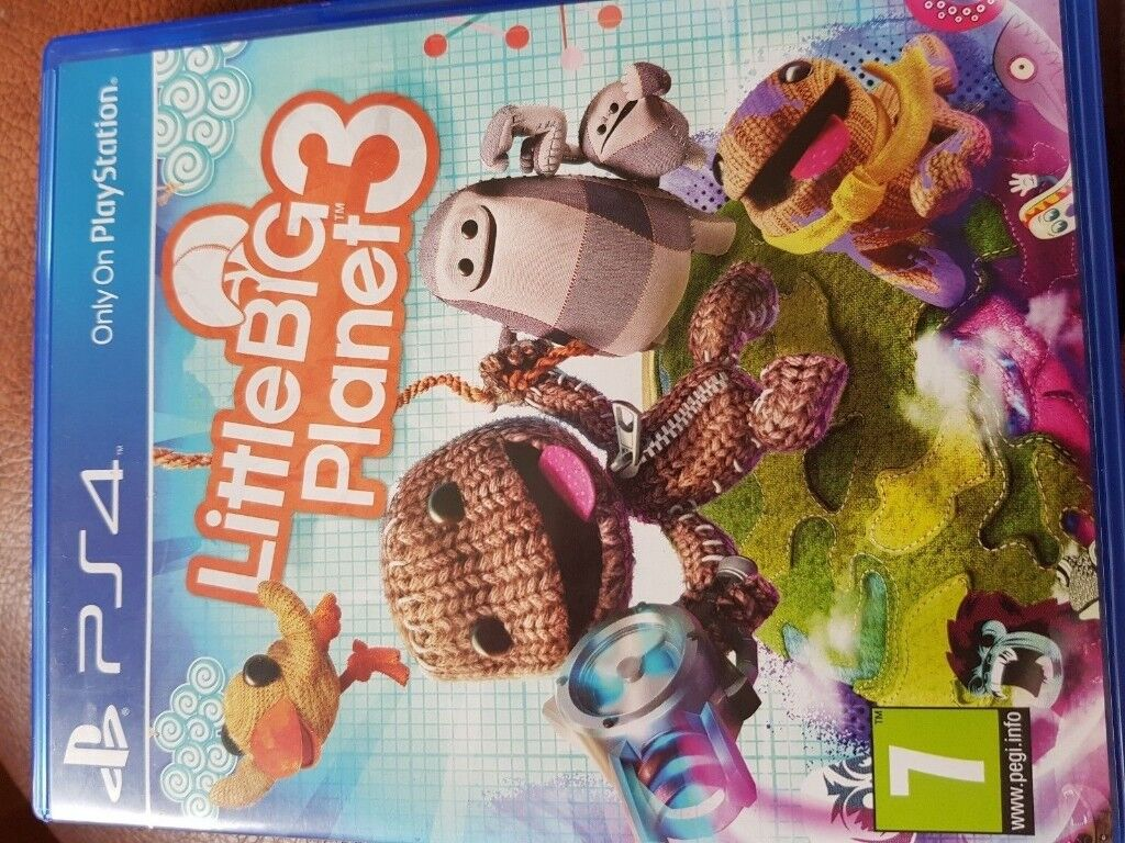 Little Big Planet 3 Ps4 In Great Condition Knaphill Surrey