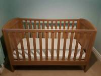 Mothercare cotbed and dresser
