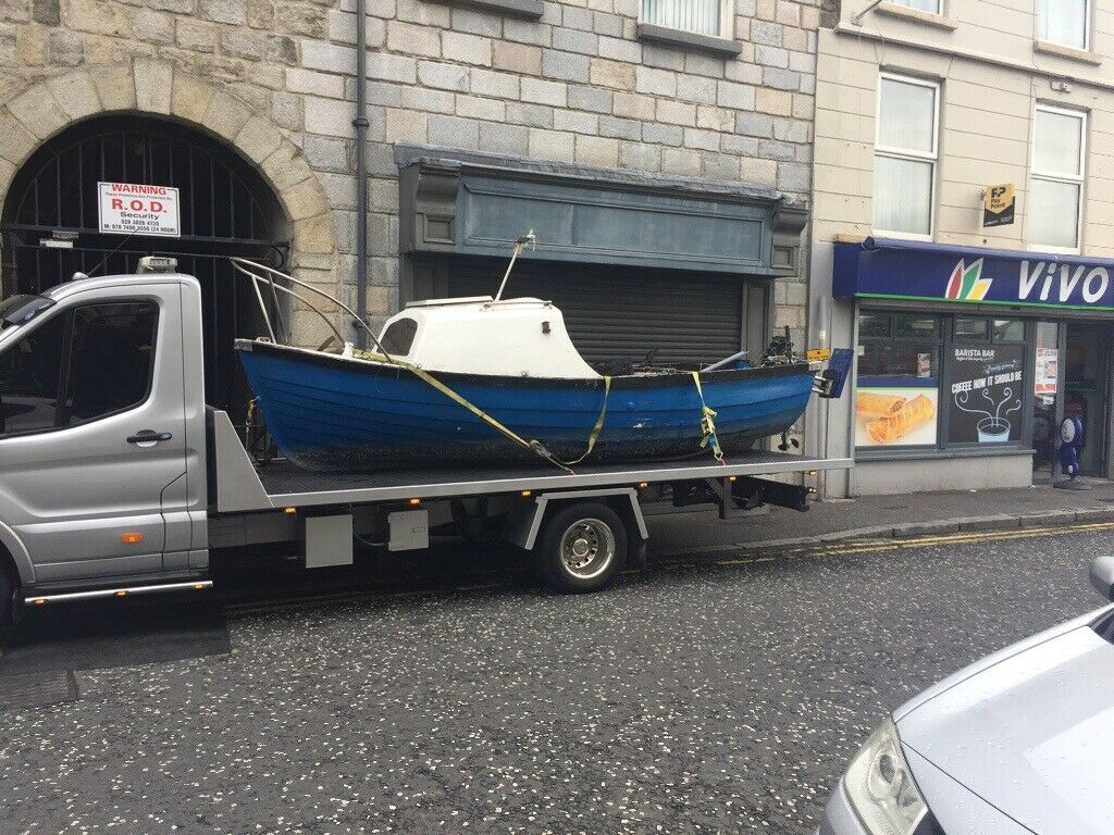 15 foot fishing boat with 15hp engine and fish finder | in Belfast City  Centre, Belfast | Gumtree