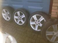 Mazda alloys and tyres