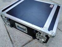 """Proel 4u 19"""" rack case flight case"""