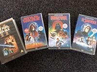Star Wars Original Collectible VHS Tapes - Job Lot