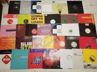2 joblots house trance etc vinyl records