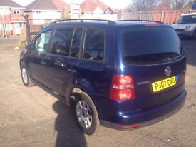 Volkswagen Touran 1.9 Diesel 7 seater good condition