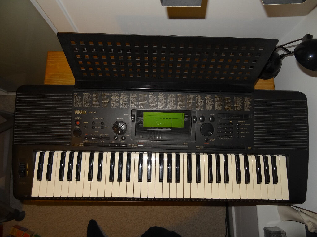 Yamaha Psr 520 Keyboard In Duddingston Edinburgh Gumtree