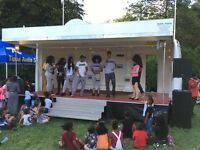 STAGE HIRE 6M X 4M COVERED STAGE. £350.00 PER DAY. LIVE BANDS, FETES, FAIRS .AND EVENTS.