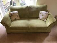 DFS 2 seater fabric sofa