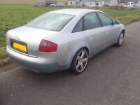 2000 Audi A6 C5 Saloon Silver 1.8 Turbo Quattro BREAKING FOR PARTS SPARES