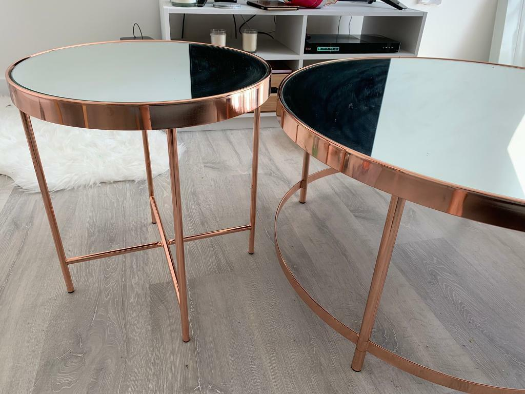 Rose Gold Mirrored Tables In Watford Hertfordshire Gumtree