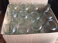 12x Jars without Lids