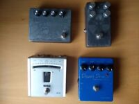 Guitar & Bass effects pedals - Hard to find pedals, huge sludge doom tones & solid overdrives etc.
