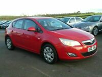 2010 Vauxhall Astra 1.6 petrol exclusive low miles, motd march 2021 all cards welcome