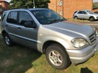 Mercedes ML 320 7 Seater
