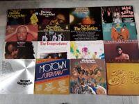 16 SOUL & MOTOWN LP RECORDS.
