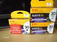 Kodak ink cartridges new and unused